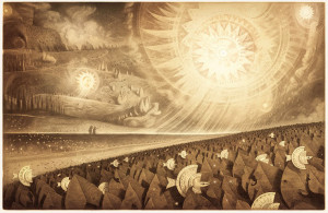 Wondrous parklands by Shaun Tan