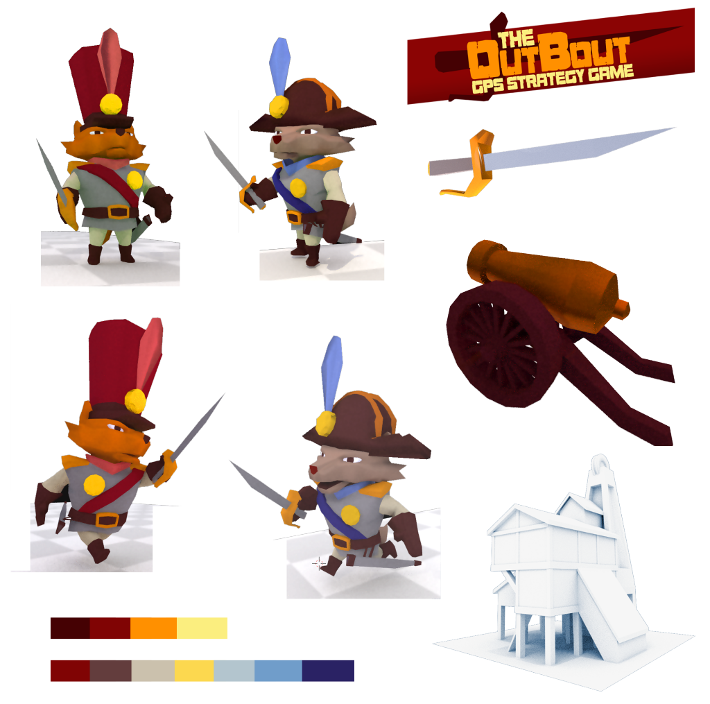 Promo Assets for the game Outbout