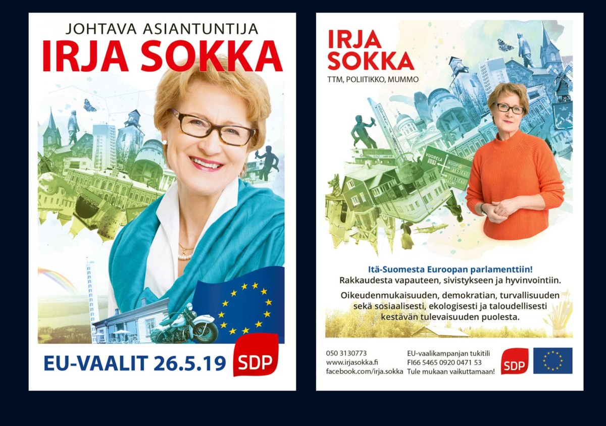 EU Election 2019 Campaign Flyer